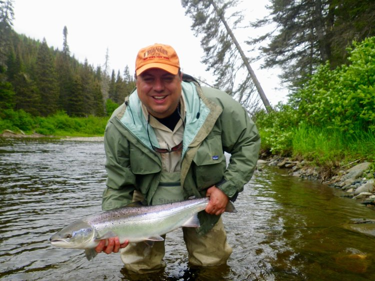 Salmon Lodge Fishing & River Report July