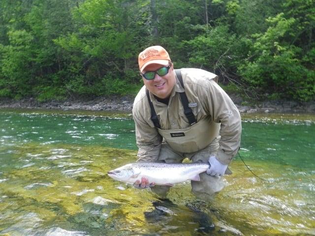Salmon Lodge Fishing & River Report June July