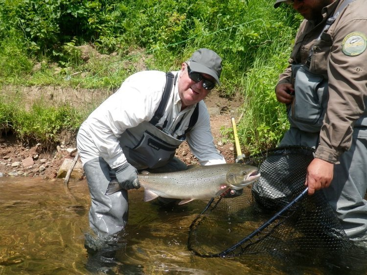 Salmon Lodge Fishing & River July 24th to 30th