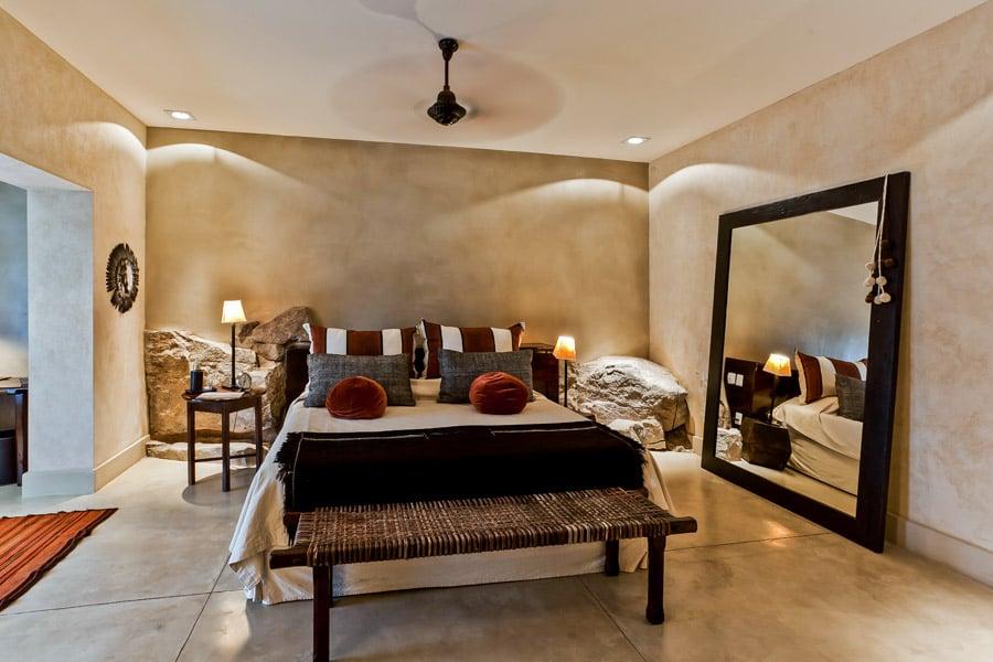 Beautiful Guayascate lodge bedroom