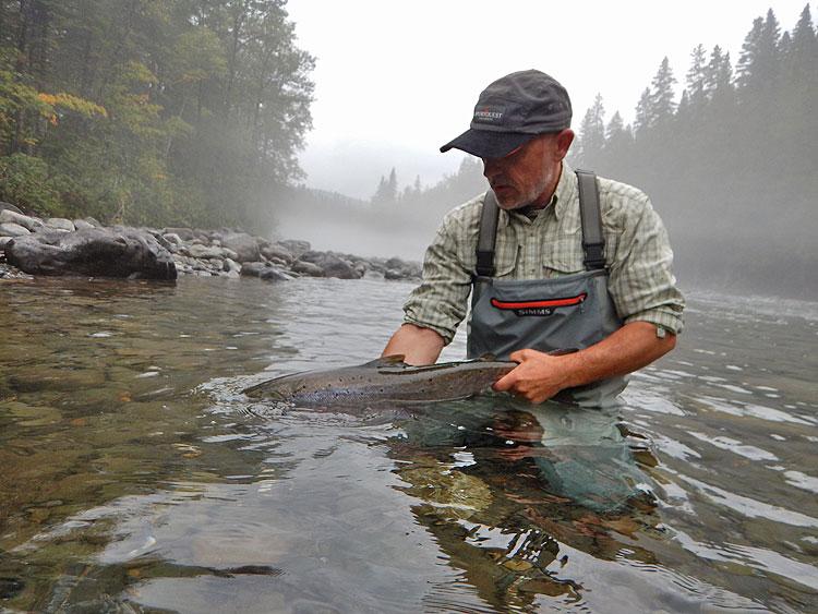 Atlantic Salmon Fishing Quebec