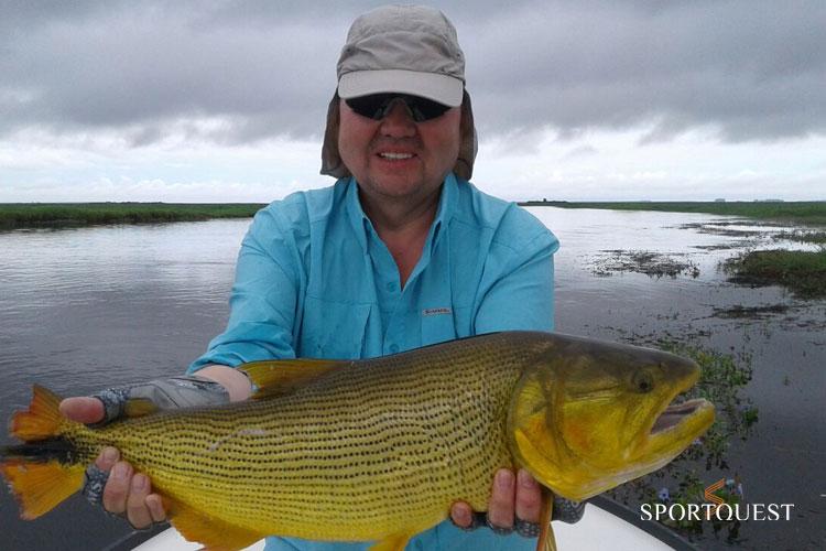 Pira Lodge Fishing Report: February 15 -28, 2018