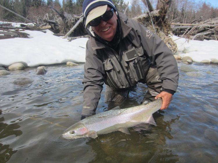 Kalum River Lodge Fishing Report 15th April