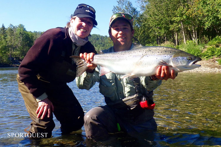 Salmon Fishing Canada
