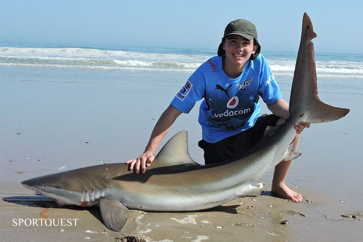 Shore Shark Fishing Namibia