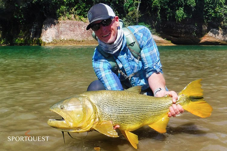 The worlds best Golden Dorado Fishing
