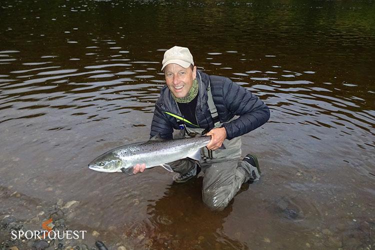 Orkla River Fishing