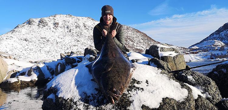 Halibut Fishing Lofoten Islands