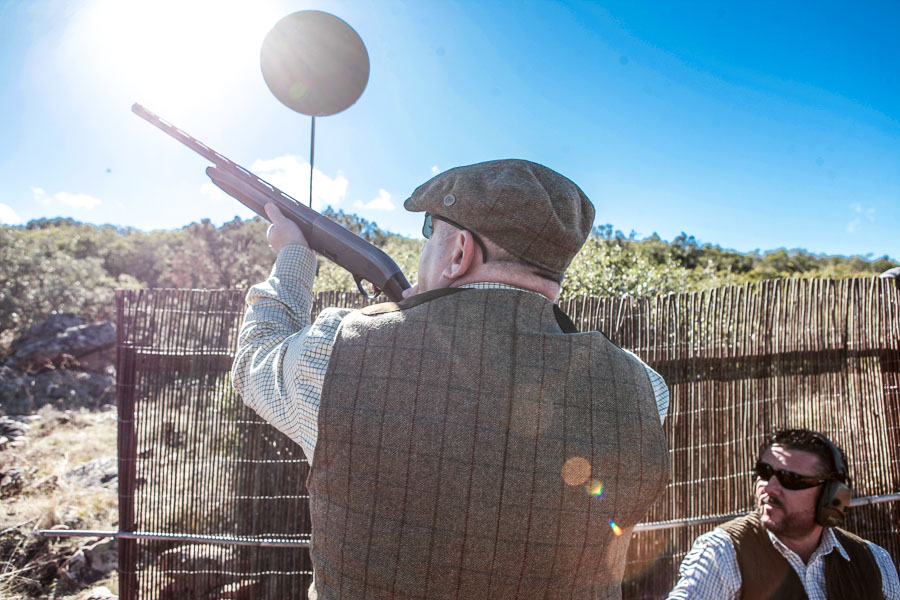 Partridge Shooting Spain