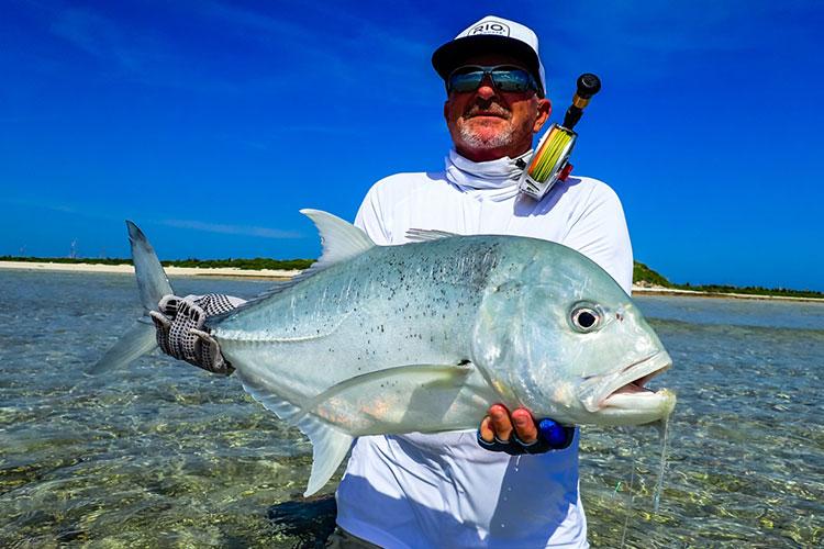 GT fishing Farquhar