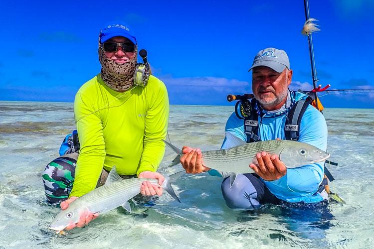 Bonefishing Seychelles St Brandons