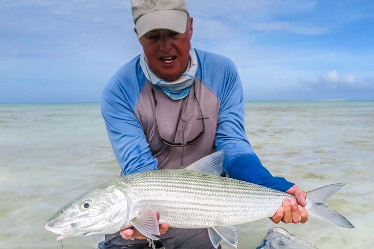 Bonefishing Mauritius