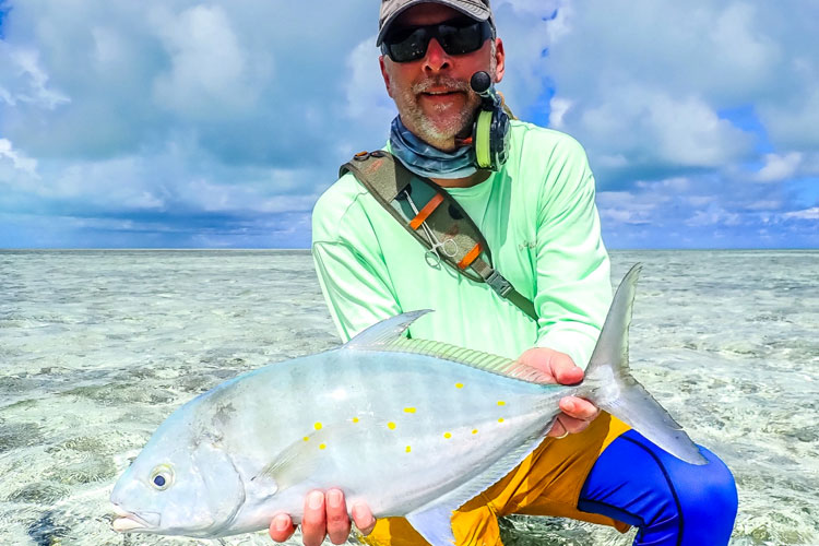 Permit fishing Seychelles