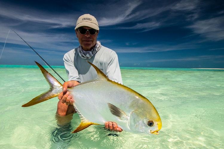 Permit fishing Mauritius