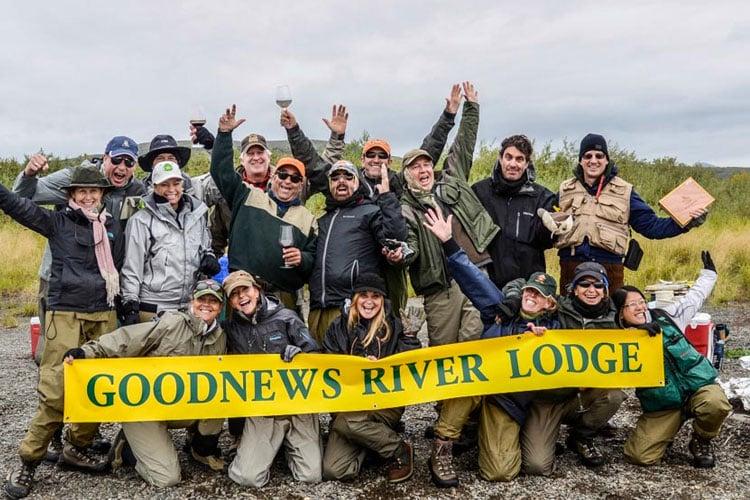 Goodnews River Lodge Fly Fishing