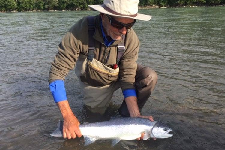 Kalum River Lodge Salmon