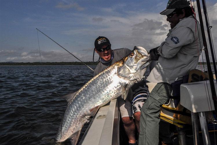 Tarpon Fishing Silver Kind Lodge Costa Rica