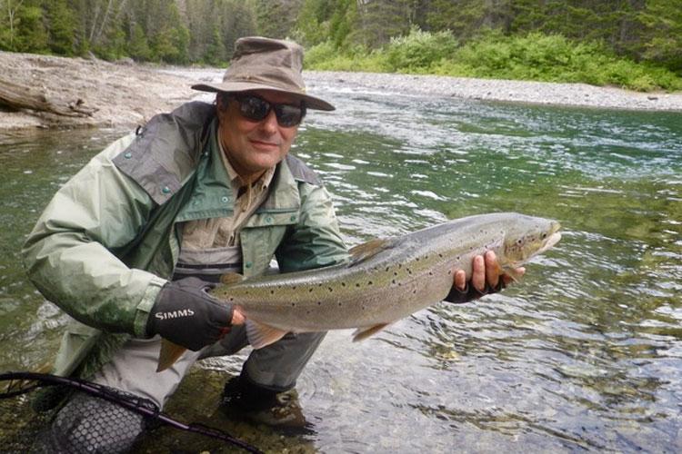 Salmon Lodge Fishing