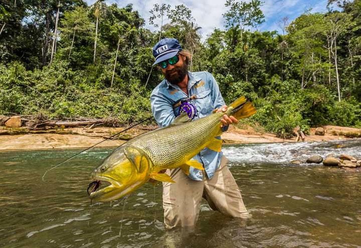 HOSTED GOLDEN DORADO FLY FISHING IN BOLIVIA