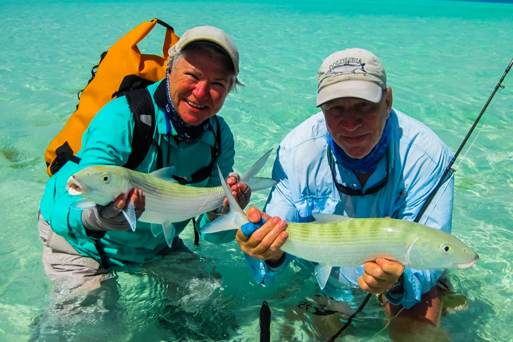 Double Bonefish Hook Up