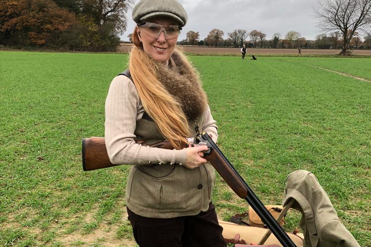 Female shooting