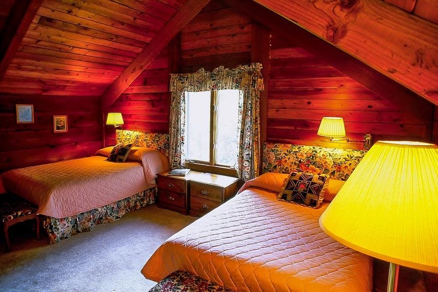 Bedroom at Bristol Bay Lodge