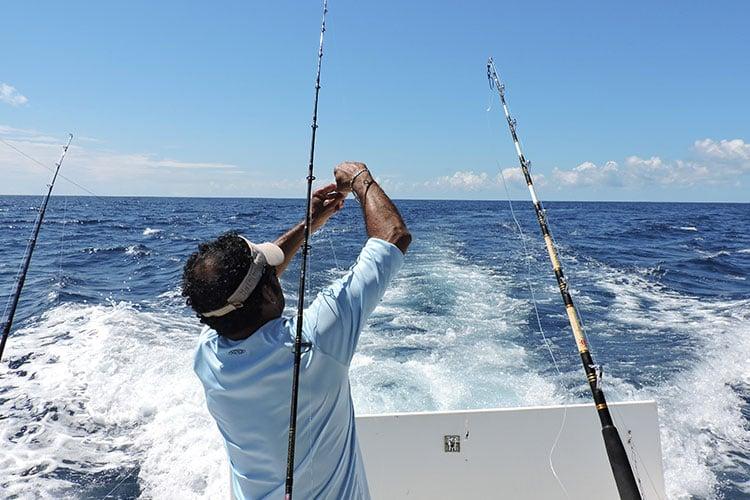 Trolling fishing