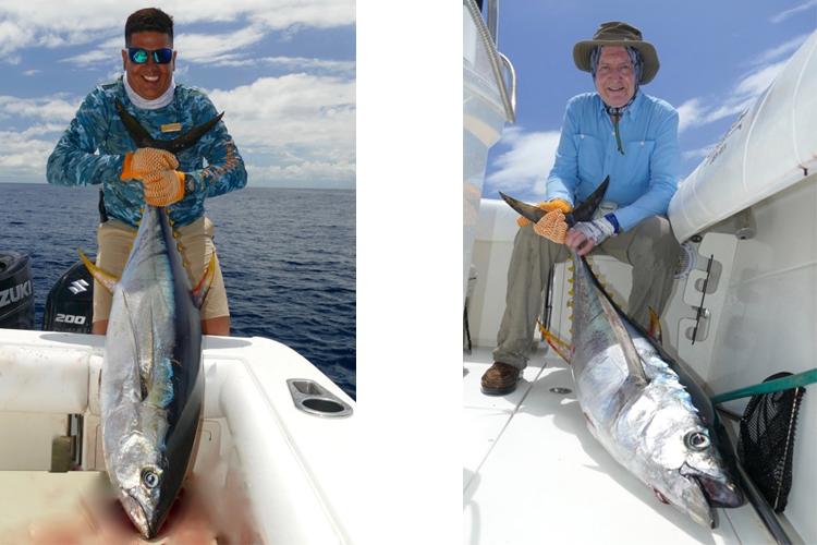 Anglers with Tuna
