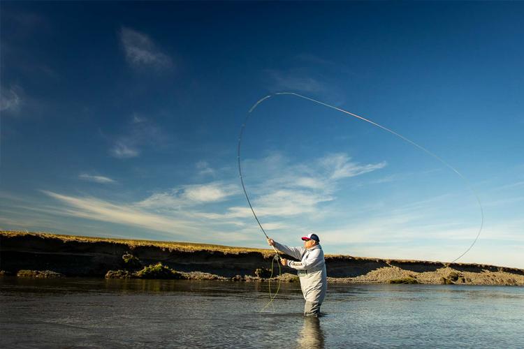 Angler Spey casting