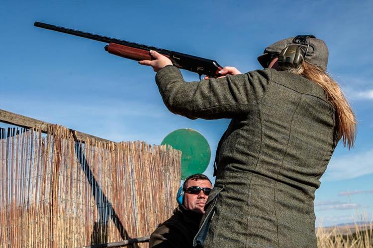 Female Shooting In Spain