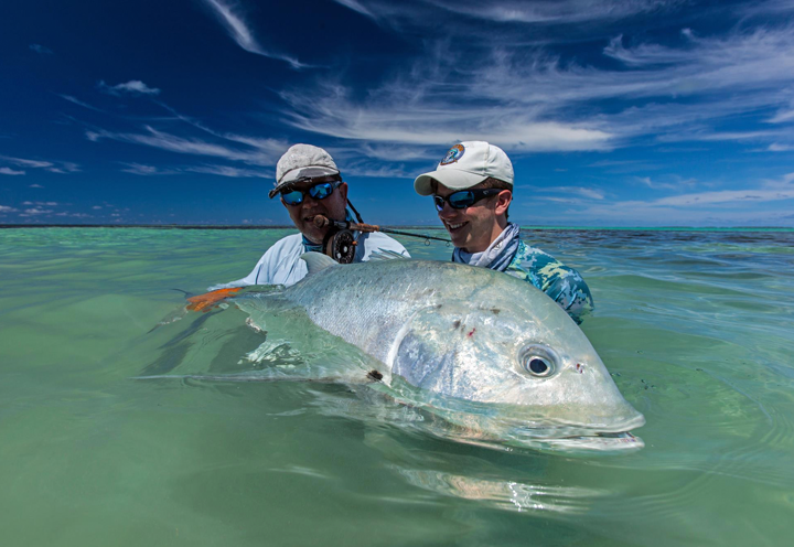 FARQUHAR LODGE SALTWATER FLY FISHING SEYCHELLES