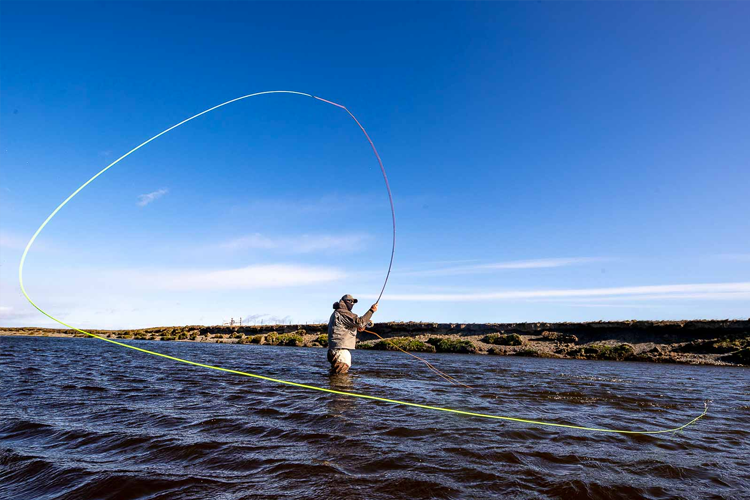 Spey Casting While In The Water