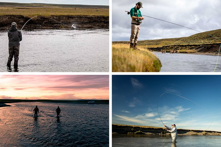 Anglers Casting In Kau Tapen