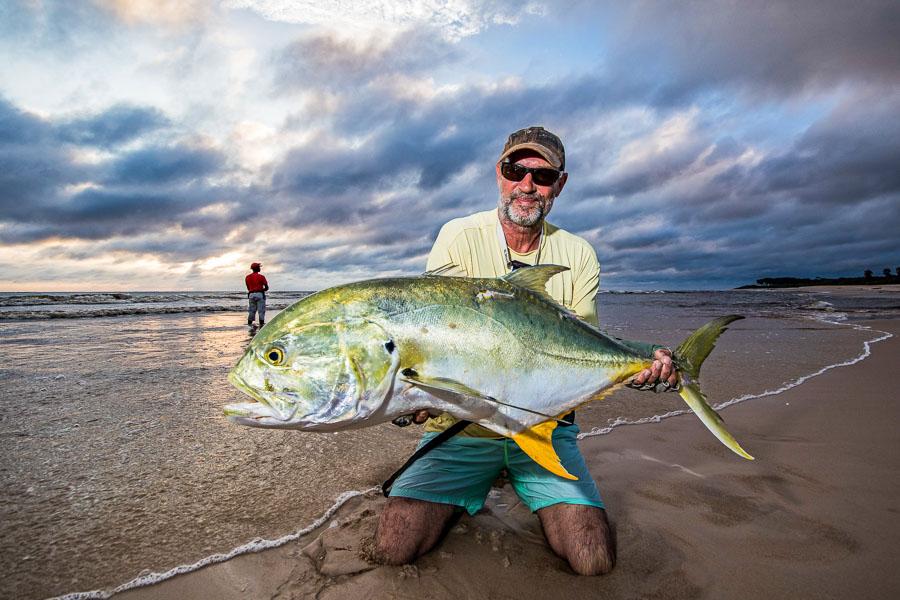 Popper & Lure Fishing in Gabon