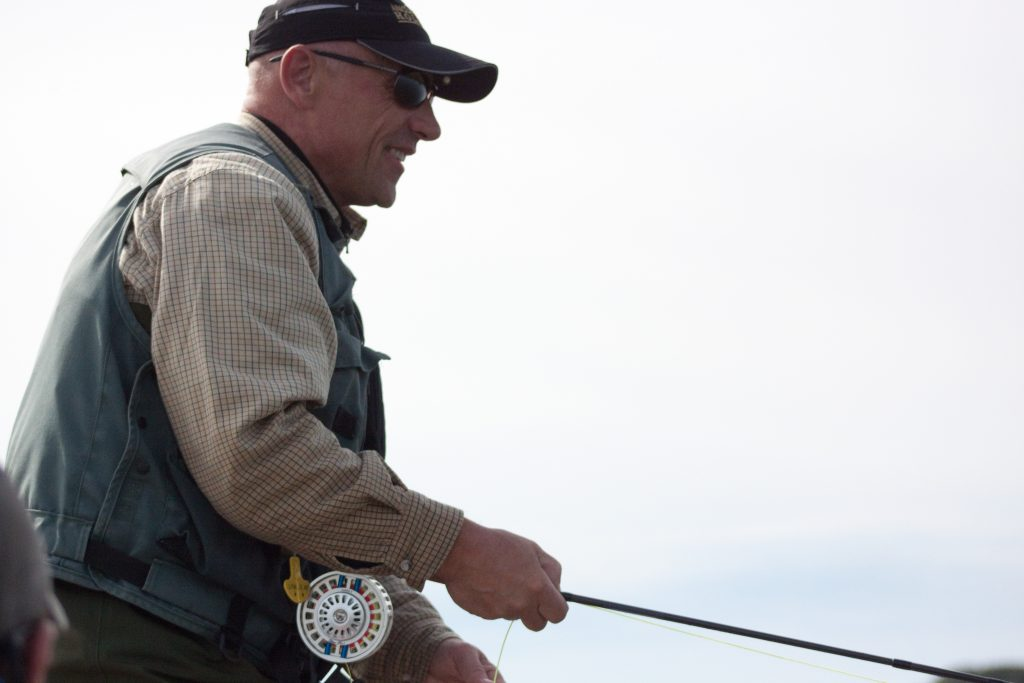 how to store fly line