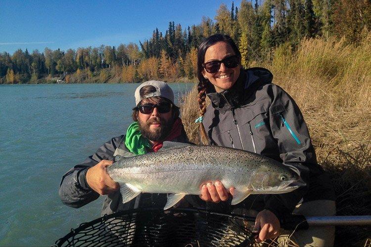 Steelhead trout from alaska