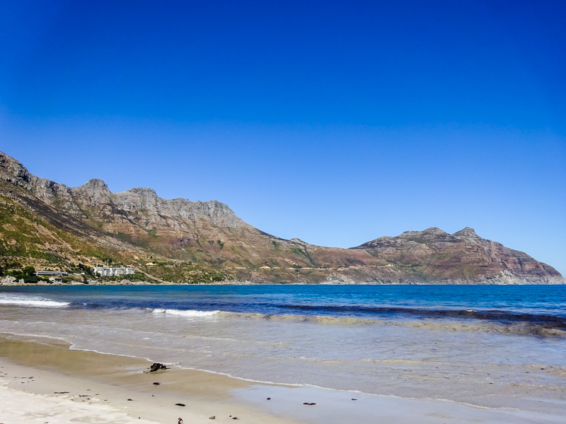 Another South African beach in Cape Town