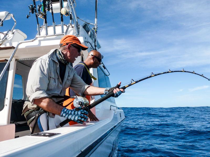 South Africa Big Game Fishing Yellowfin Tuna