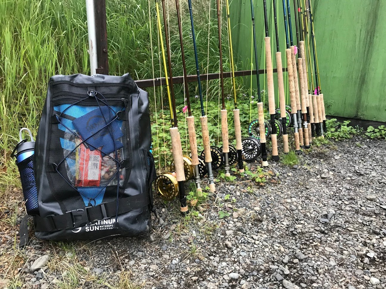 rods for using arctic char flies
